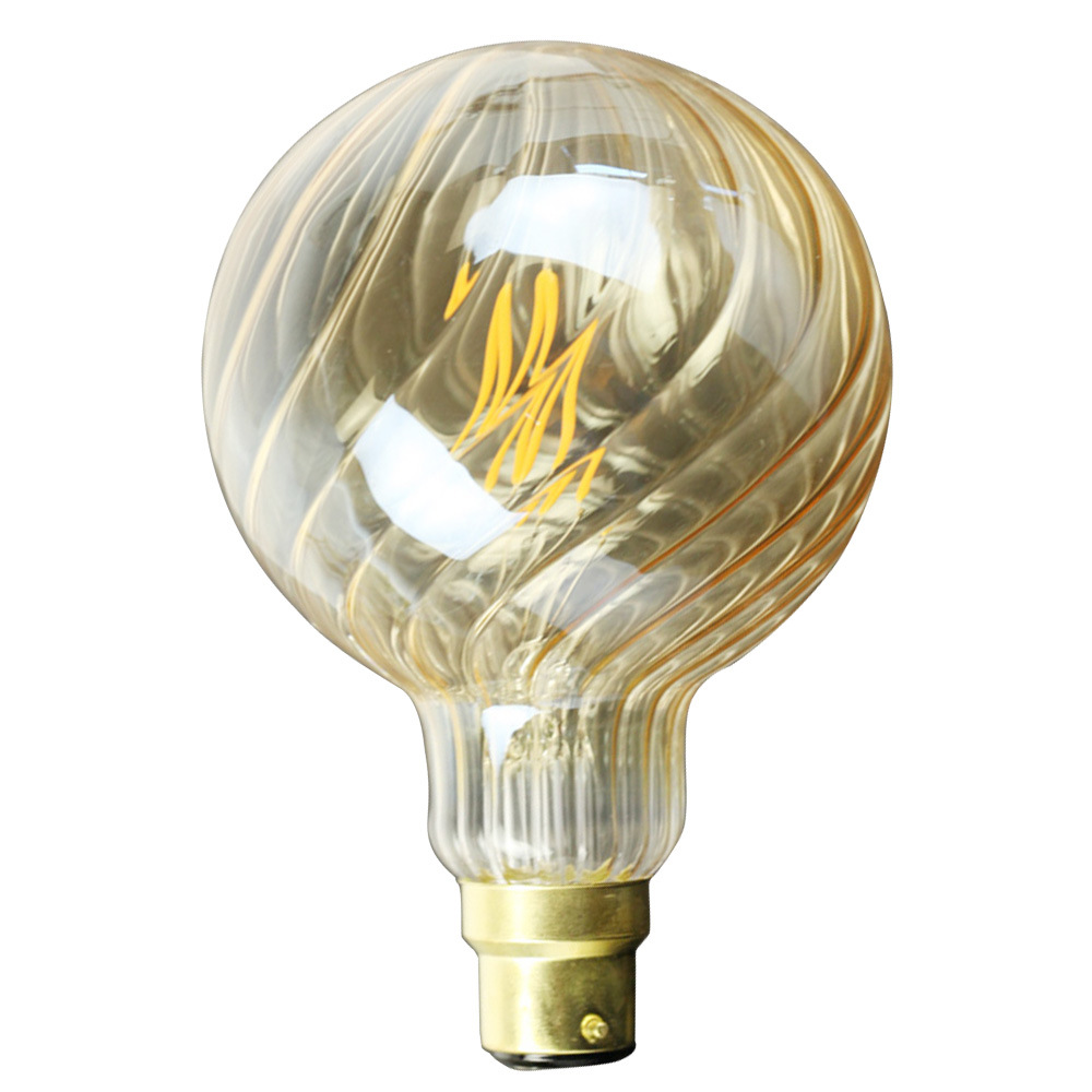 4W B22 G95 Twill LED Edison Bulb 220-240V Home Light LED Filament Light Bulb