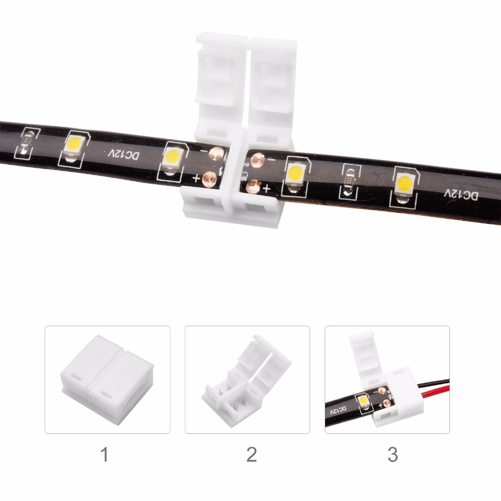 Strip Connector LED Strip Connecting for RGB 3528 5050 5630 LED Strip Light