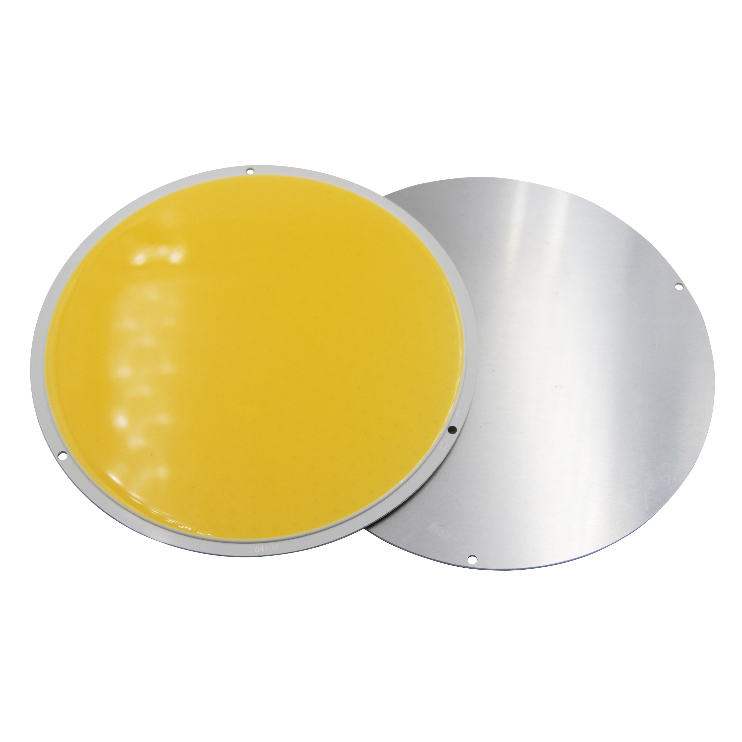 200W LED COB Module LED COB Round Panel DC 12V 160mm PCB 150mm Emitting Area Warm White