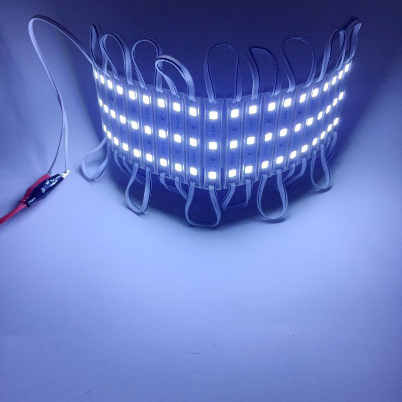 DC12V SMD 5054 LED Module 3LEDs Waterproof IP65 Super Bright Backlight for Signage 20pcs/lot