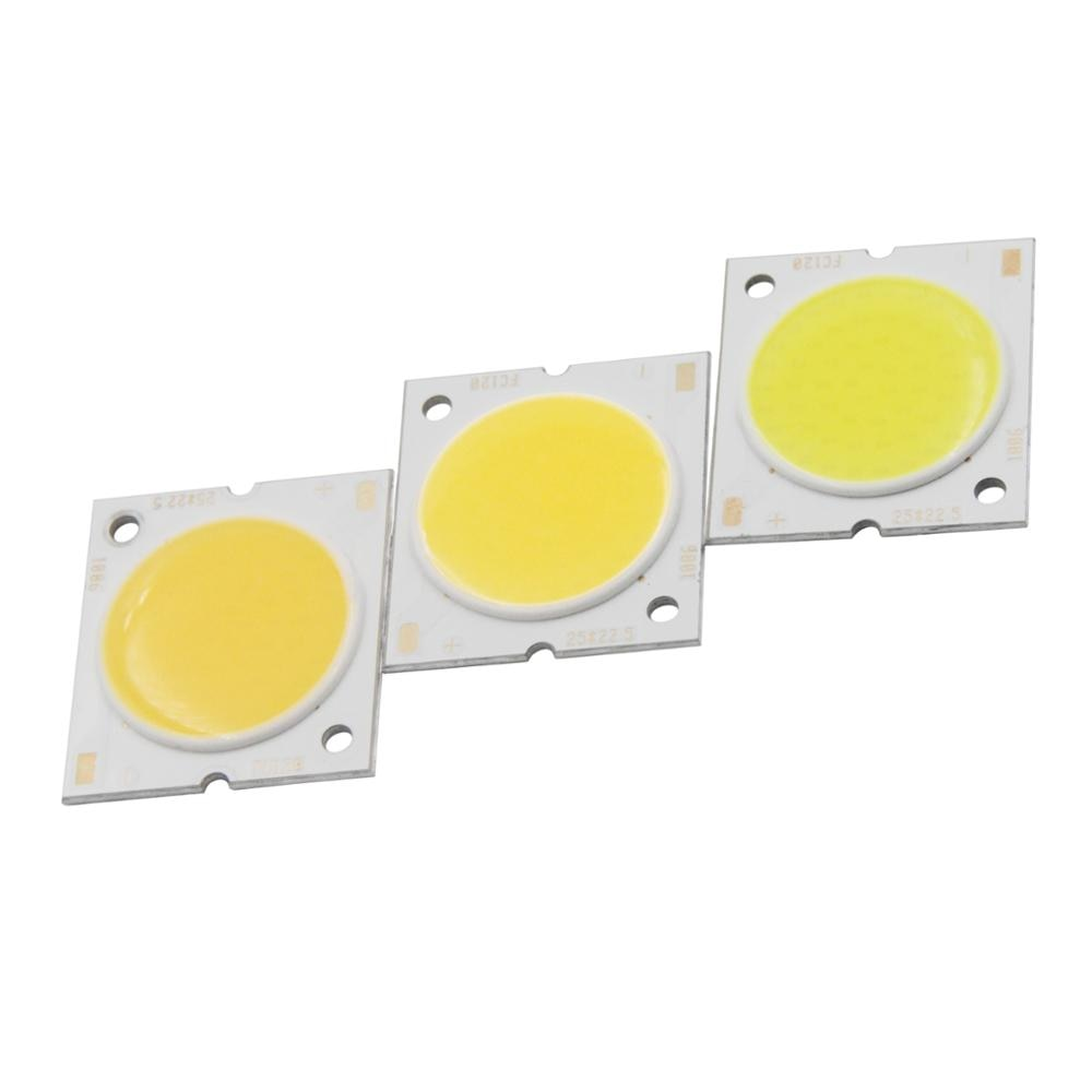 10W /15W /20W /30W Square LED COB Light 23*25mm PCB 20mm Emitting White Warm/ Natural White