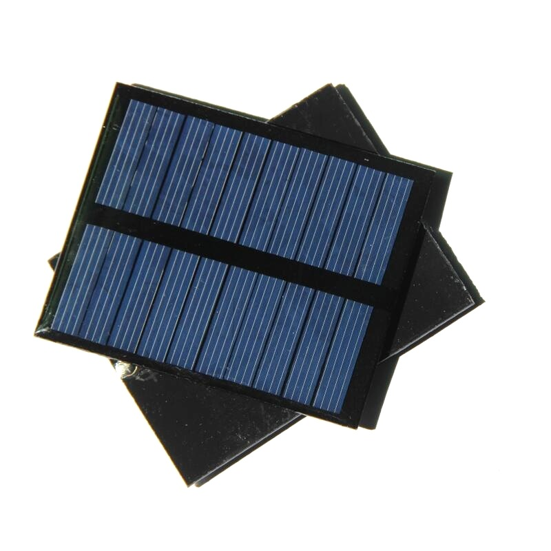 0.5W 5V Polysilicon Epoxy Solar Panel Cell Battery Charger