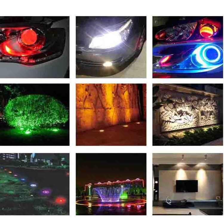 120W RGB Full Color High Power LED 30W for each color