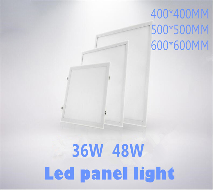 32W 36W 48W AC110-265V 2835 SMD LED Square Panel Light Concealed with Spring
