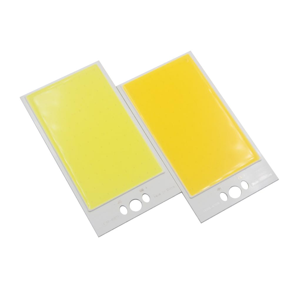 30W LED COB Light Module 120*65mm DC 12V 2500mA Warm White/ White