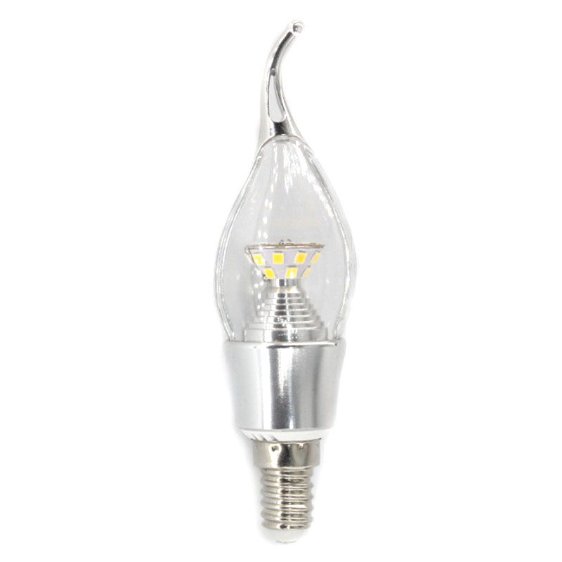 5W E14 2835 SMD Diamond LED Edison Bulb 220V Home Light LED Filament Candle Bulb