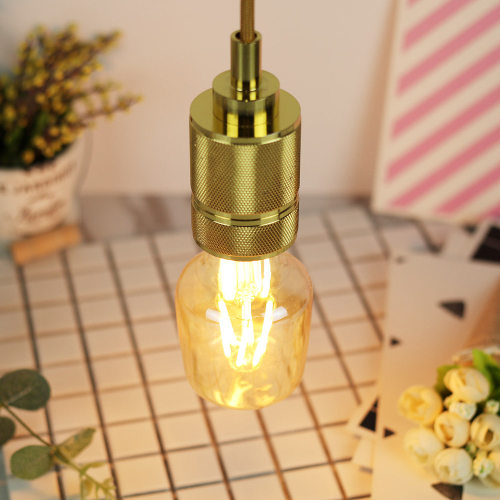 6W E27 Bottle Bulb LED Edison Bulb 220-240V Home Light LED Filament Light Bulb