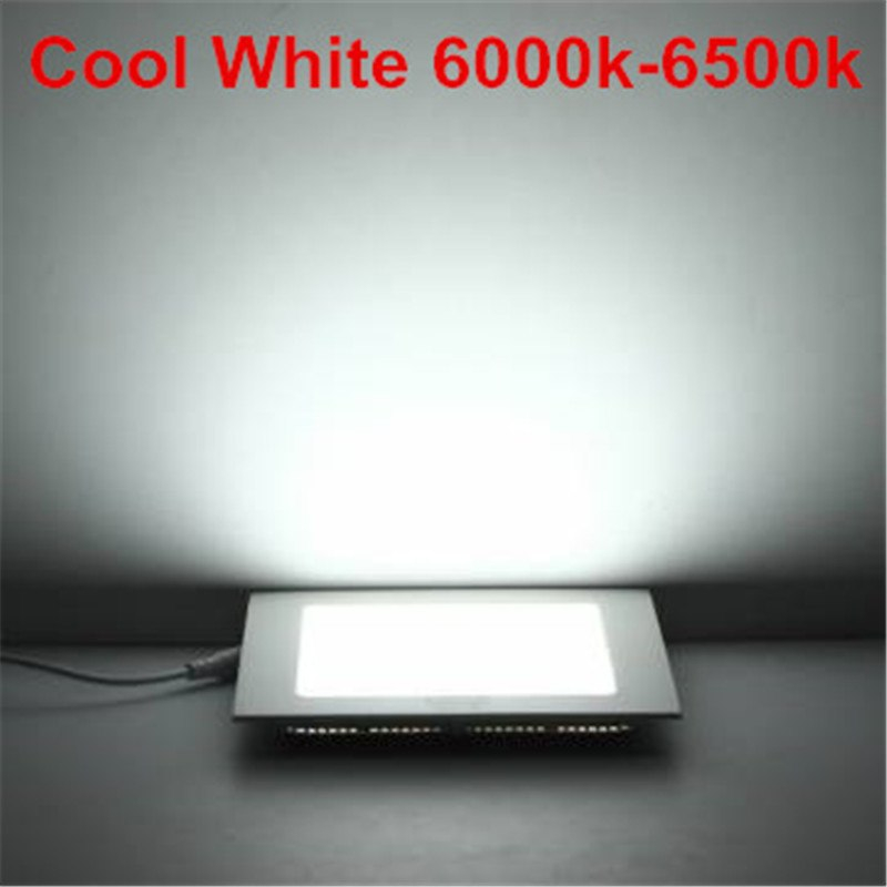 6W 12W 18W 24W AC85-265V LED Square Panel Light