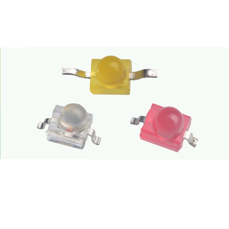 F1.8/1.8MM Diffused Horizontal Butterfly LED Lamps Emitting Orange/Red/Yellow/Green/Jade-Green/Blue/White