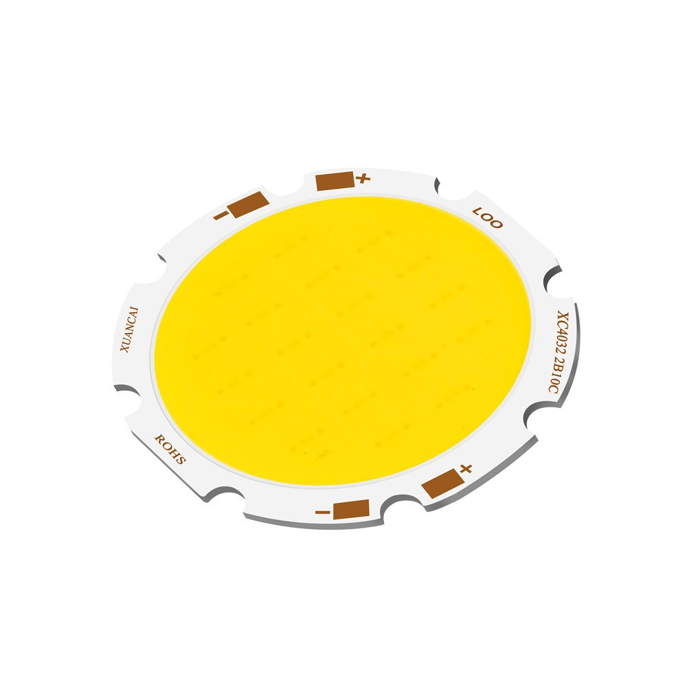 10W/15W/20W LED COB Module LED COB Round Panel 40mm PCB 32mm Emitting Area Warm/Natural White