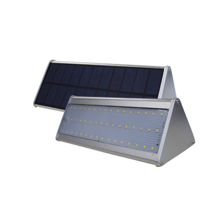 10W 2835 SMD White Aluminum Triangle Solar LED Wall Light