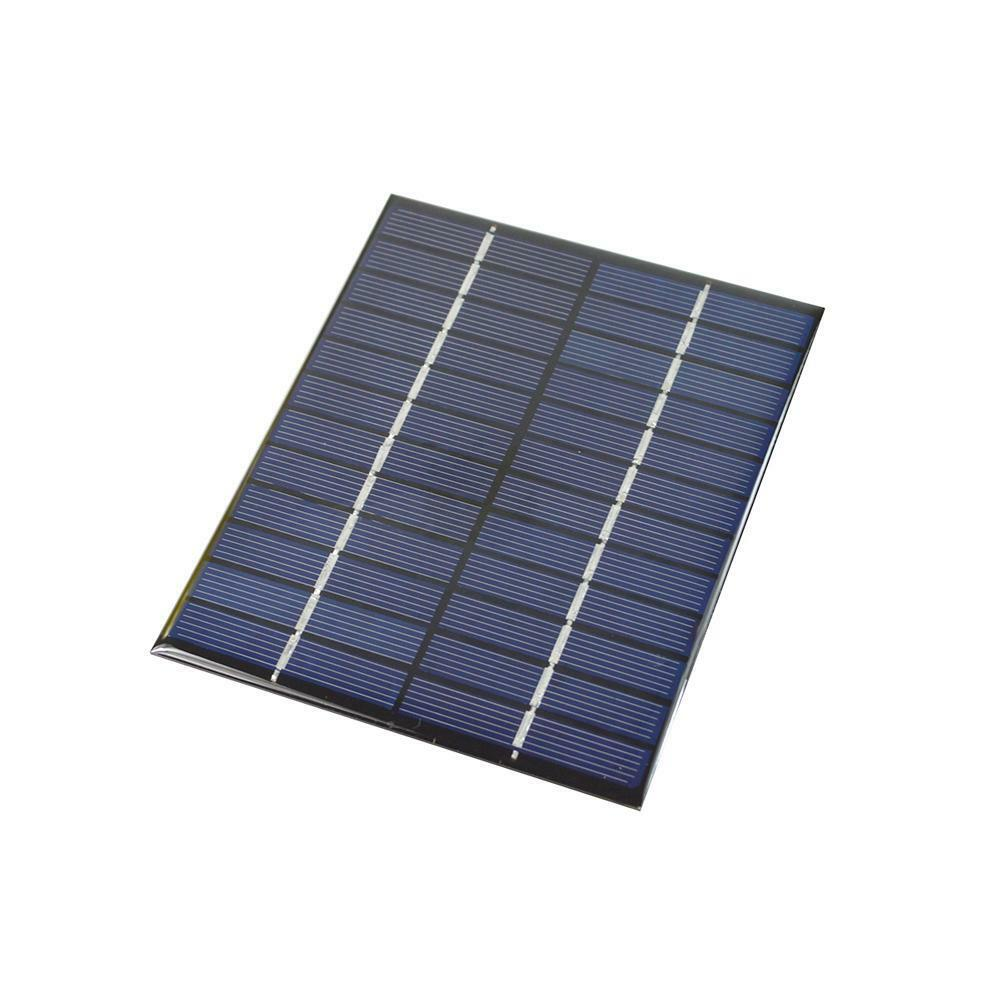 2W 12V Polysilicon Epoxy Solar Panel Cell Battery Charger