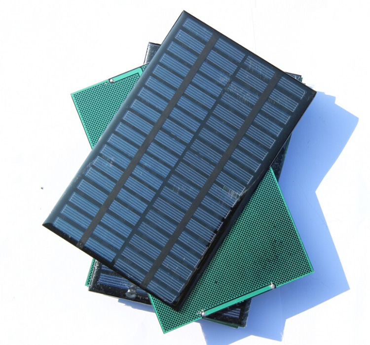 2.5W 18V Polysilicon Solar Panel Cell Battery Charger