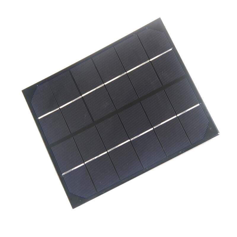 6W 6V Monocrystalline Epoxy Solar Panel Battery Charger