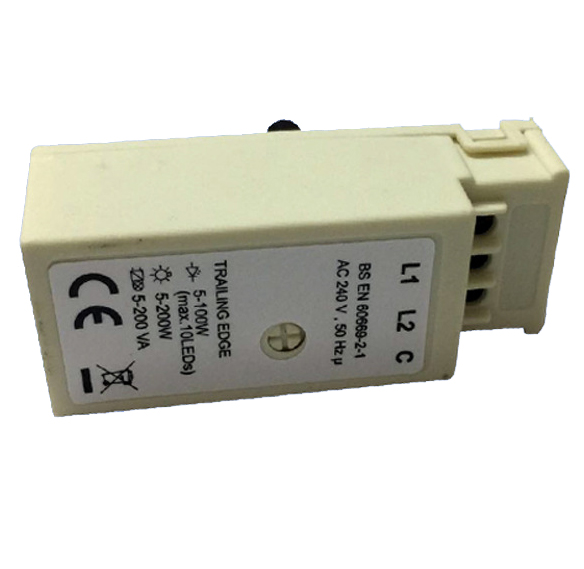 100W LED Dimmer TRIAC Rotary Controlled Trailling Edge Dimmer 240V AC 50Hz