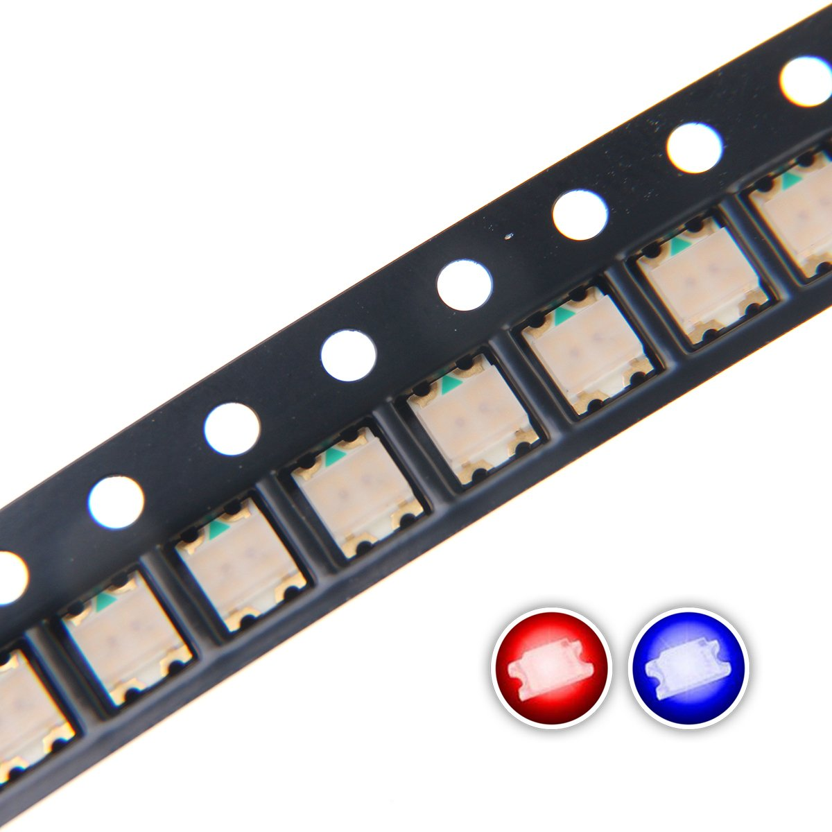 1206 SMD LED Diode Lights Chips Emitting White/Red/Green/Blue/Yellow/Purple/Pink