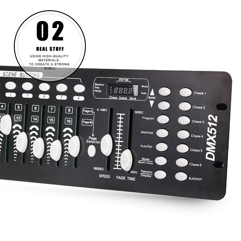 192 CH DMX512 Stage Light Control Master