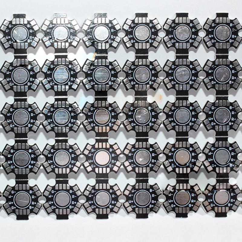 20mm 4W 12W RGBW Aluminum Base Plate PCB Board for High Power LED