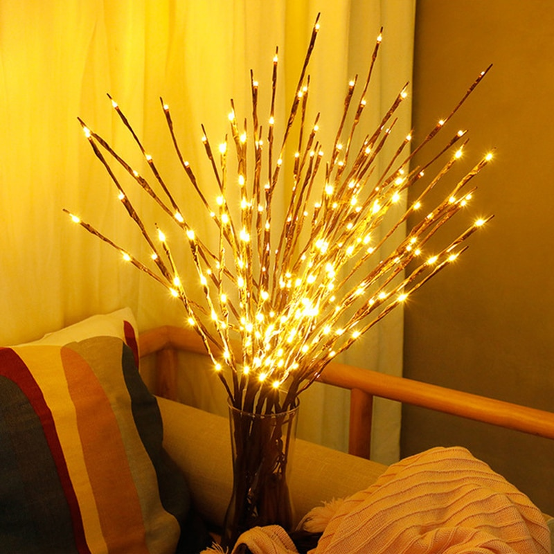 Battery Powered LED Branch Light 77CM