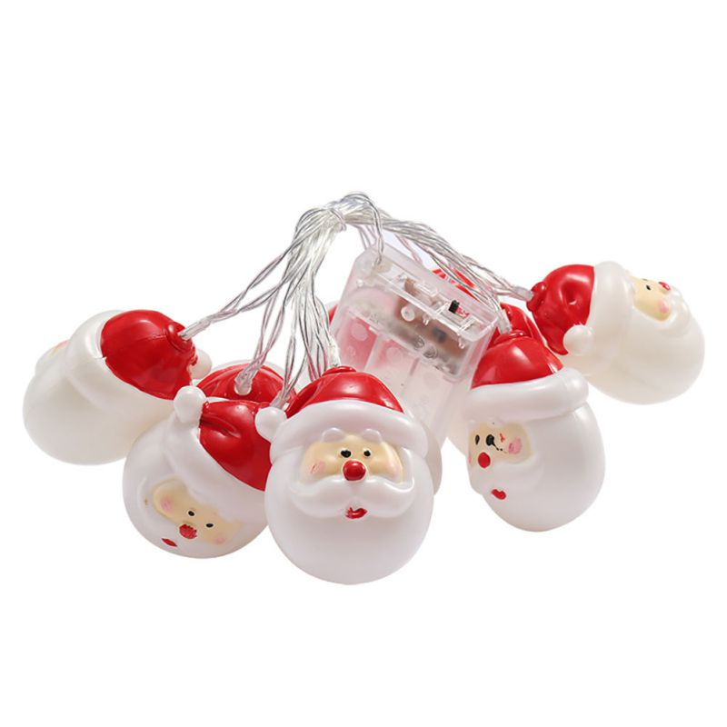 Battery Powered LED Santa Claus Light String 1.5M/3M/4.5M