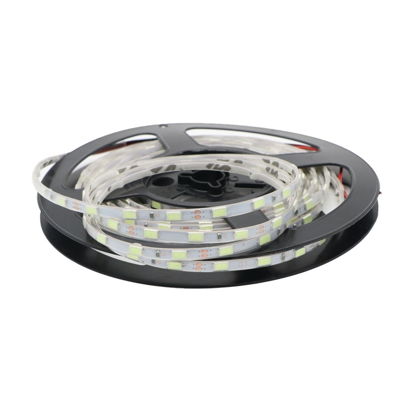 DC 12V 5730 SMD Ultra Bright Flexible Led Strip 60 LEDs/m 5mm Width Waterproof IP65