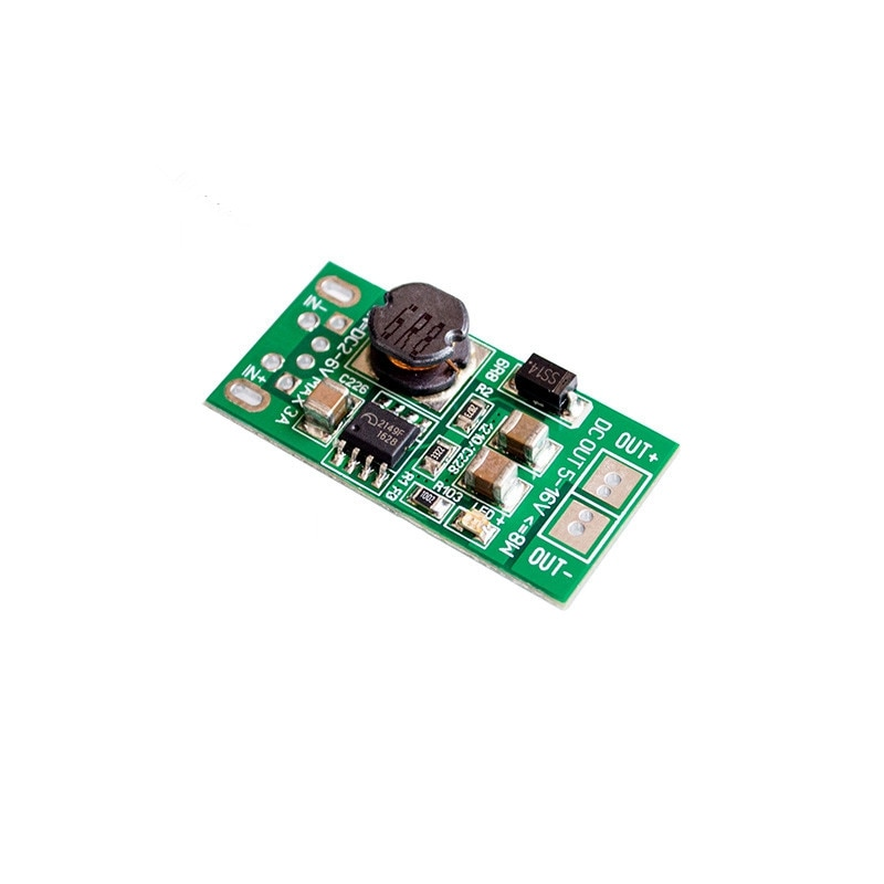 DC Step Up Boost Converter Adapter Circuit Board 5V 12V 8W