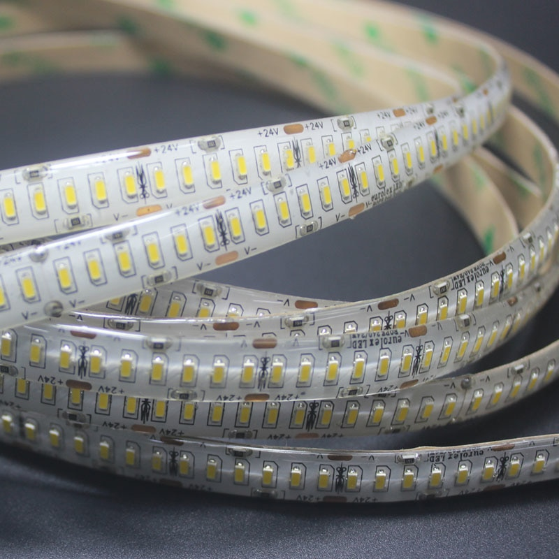 DC 24V 3014 SMD Flexible LED Strip 240LEDs/m Emitting White/Warm White