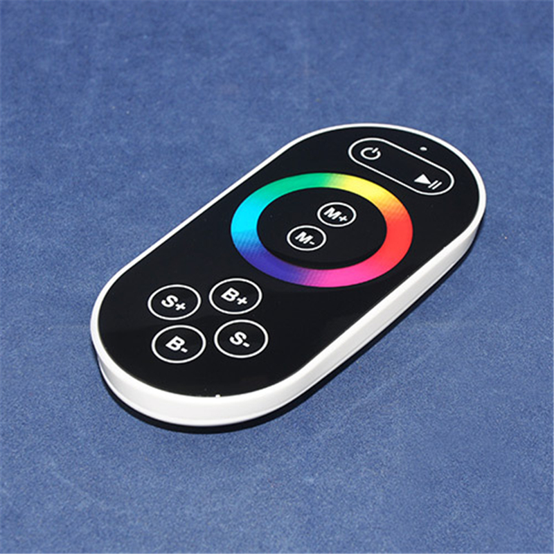 DC12-24V LED RF RGB Touch Controller With 8key Remote Iron Shell 3channels