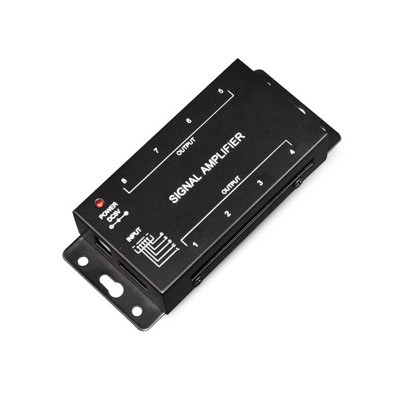 DC5V 1 to 8 Digital SPI Signal Amplifier for Dream Color Strip Light