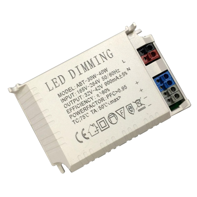 30-40W 900-1200mA LED Dimmable Constant Current Driver 220V Input Power Adapter