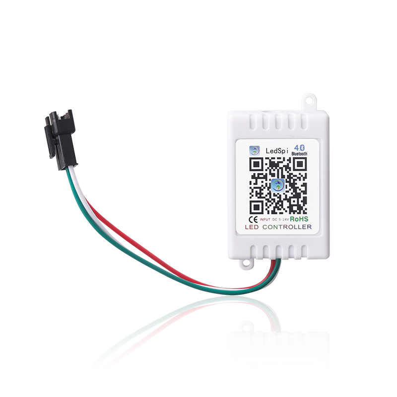 Magic Bluetooth LED SPI Controller for WS2811 WS2801 LED Strip/ Module Lights