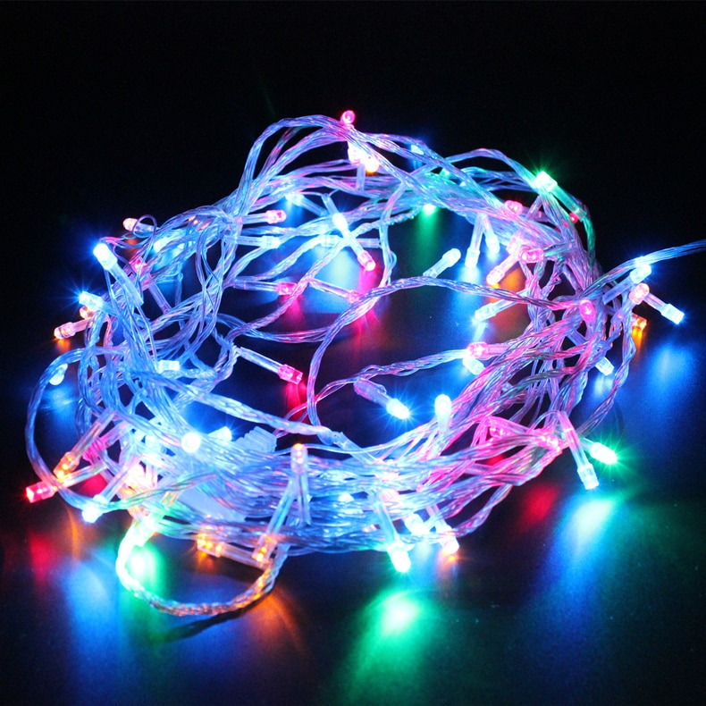 Plug Powered LED Fairy Light String 10M/20M/30M/50M/100M