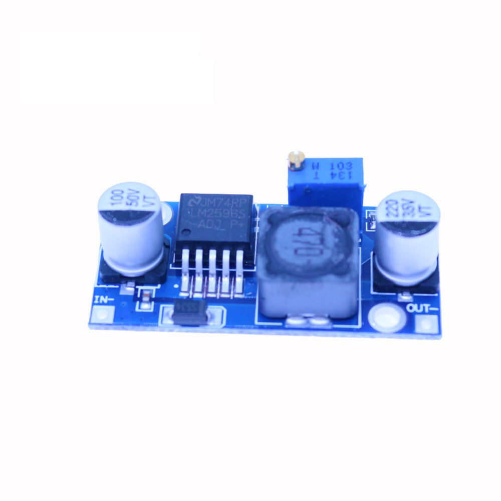 3A 12/24V to 12/5/3.3V LM2596 LM2596S DC-DC  Adjustable Step-down Power Supply Module