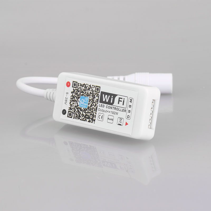 RGBW 4CH Mini WiFi Smart APP Control LED Strip Light Controller