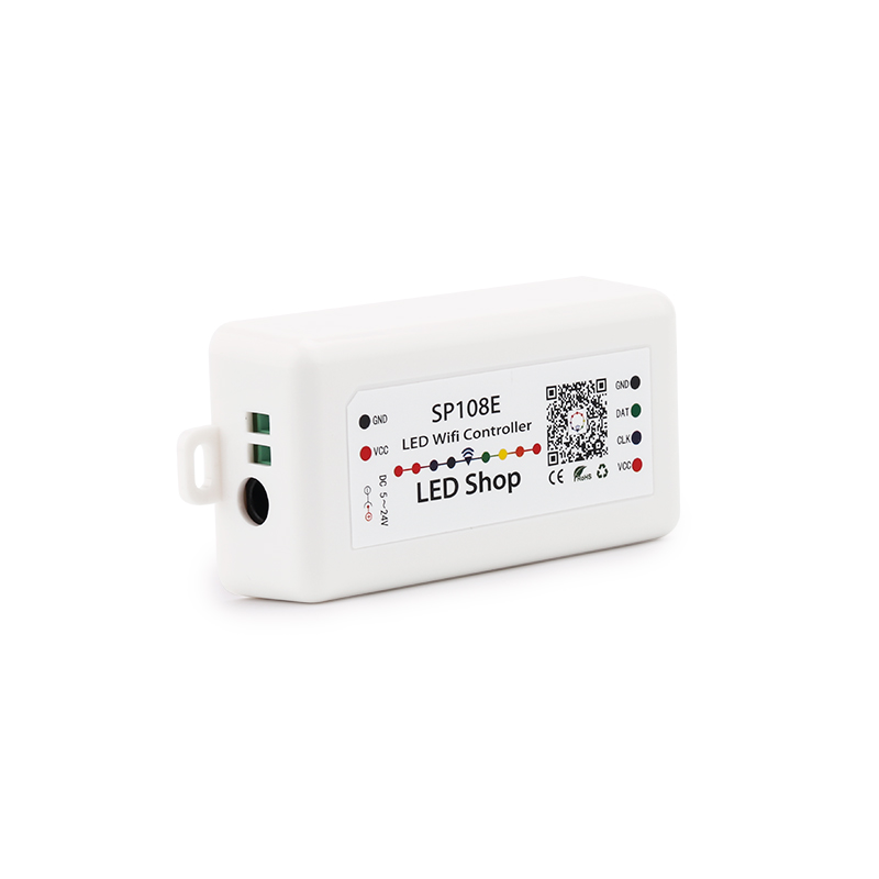 SP105E Bluetooth LED Pixel Strip Light Controller SP108E SP107E SP110E Mini Controller