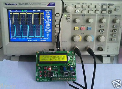UDB1308S Dual DDS Source TTL Signal Generator Sweep Frequency Counter Module 60MHz