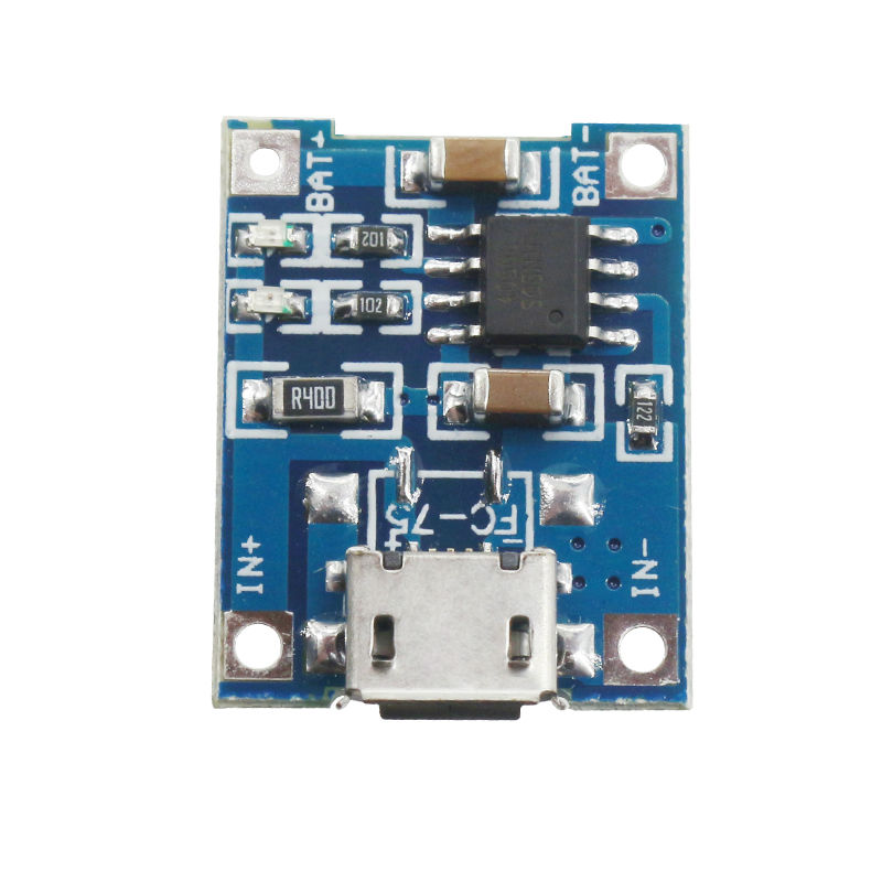 TP4056 DIY 1A Micro USB Battery Charging Board Charger Module