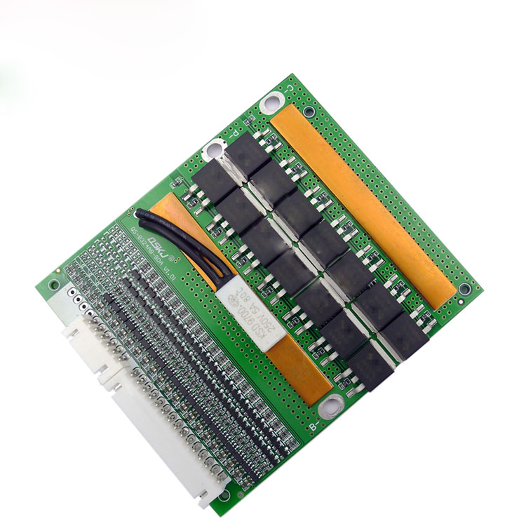 6-20 Series 60V 72V 150A Lithium Iron Phosphate Lithium Battery Protection Board Temperature Control QS-B320AB-80A