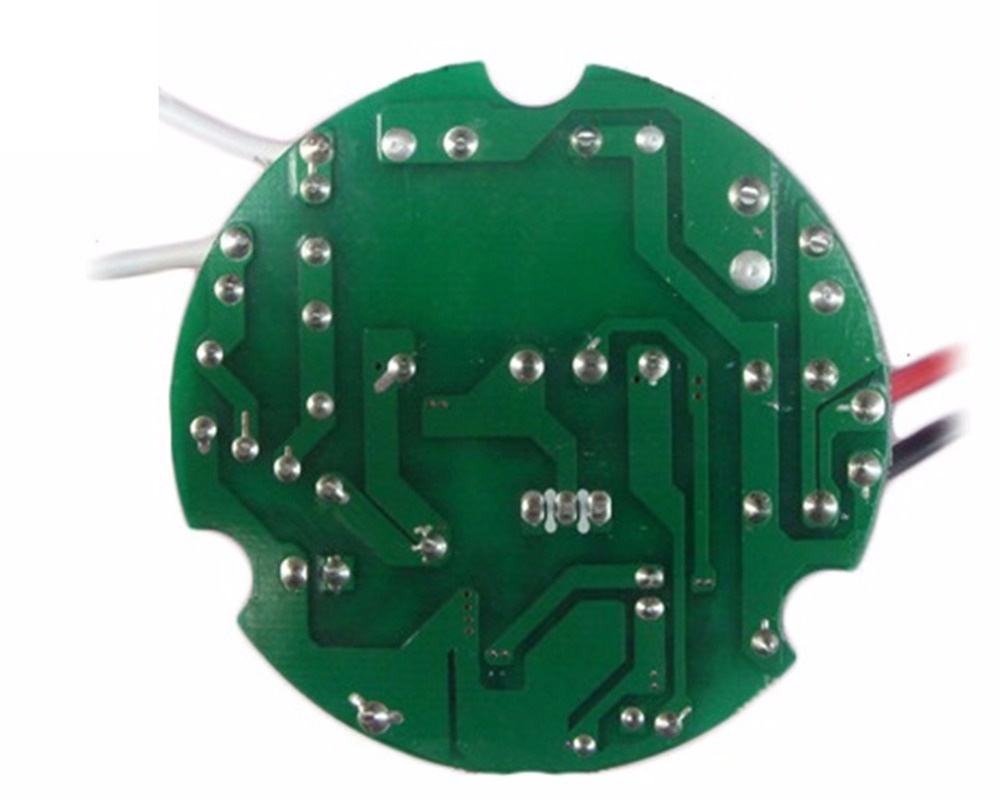 50W 70W 100W LED Constant Current Driver 90-265V/300V Input Round Plate No Flicker High PF Power Adapter