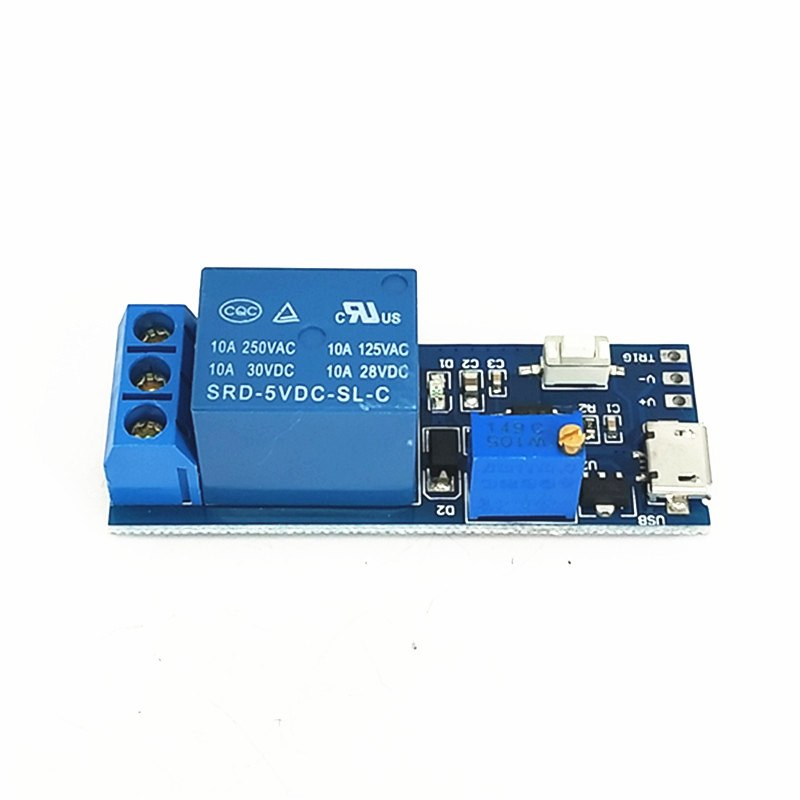 5V-30V Wide Voltage Trigger Delay Relay Module Time delay switch