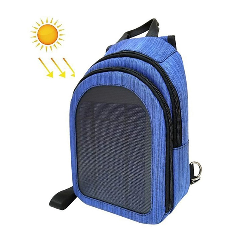 5W 5V Solar Backpack Waterproof