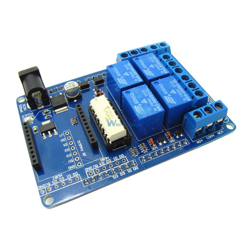 5V 4 Channel Relay Module Extension Board V1.3 for Arduino