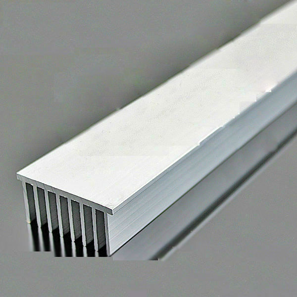 600*52.3*24.6mm Aluminum Heatsink Grating Plate Type