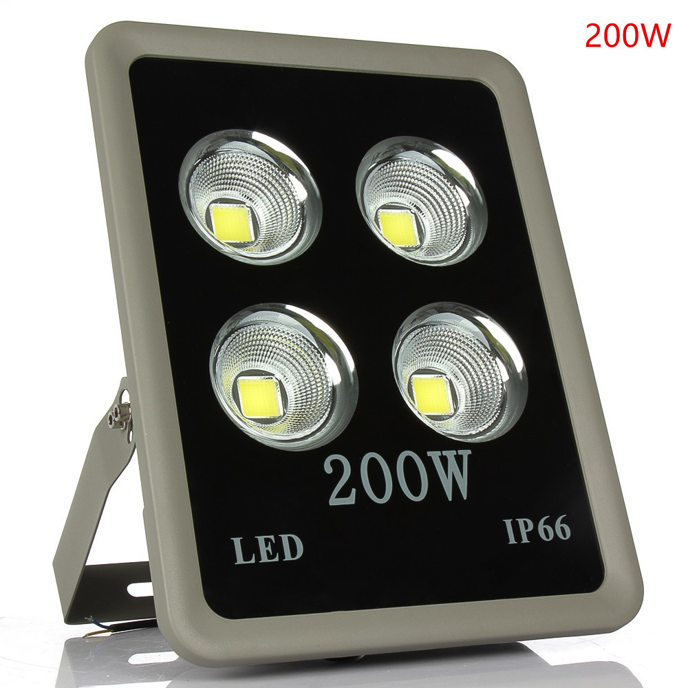 Golden Cup LED Floodlight 50W 100W 150W 200W 250W 300W 400W 500W 600W Outdoor Lamp AC 85V-268V