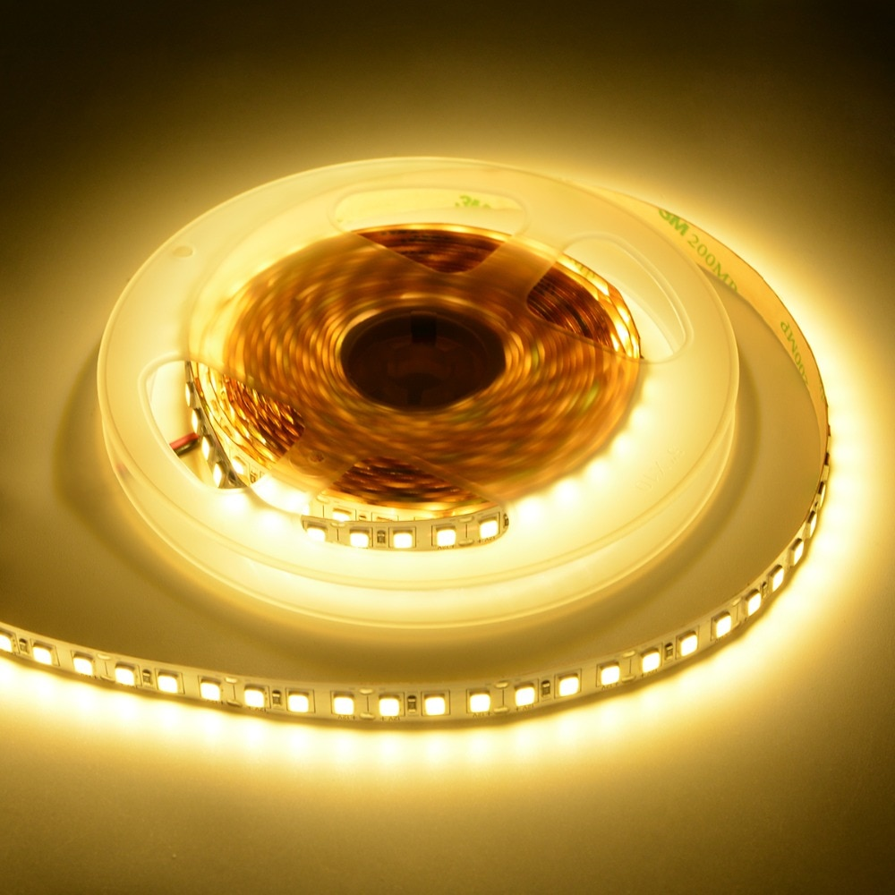 DC 12V 4040 Ultra Brightness Flexible Highlight LED light Tape Ribbon 60led/m 120Leds/m