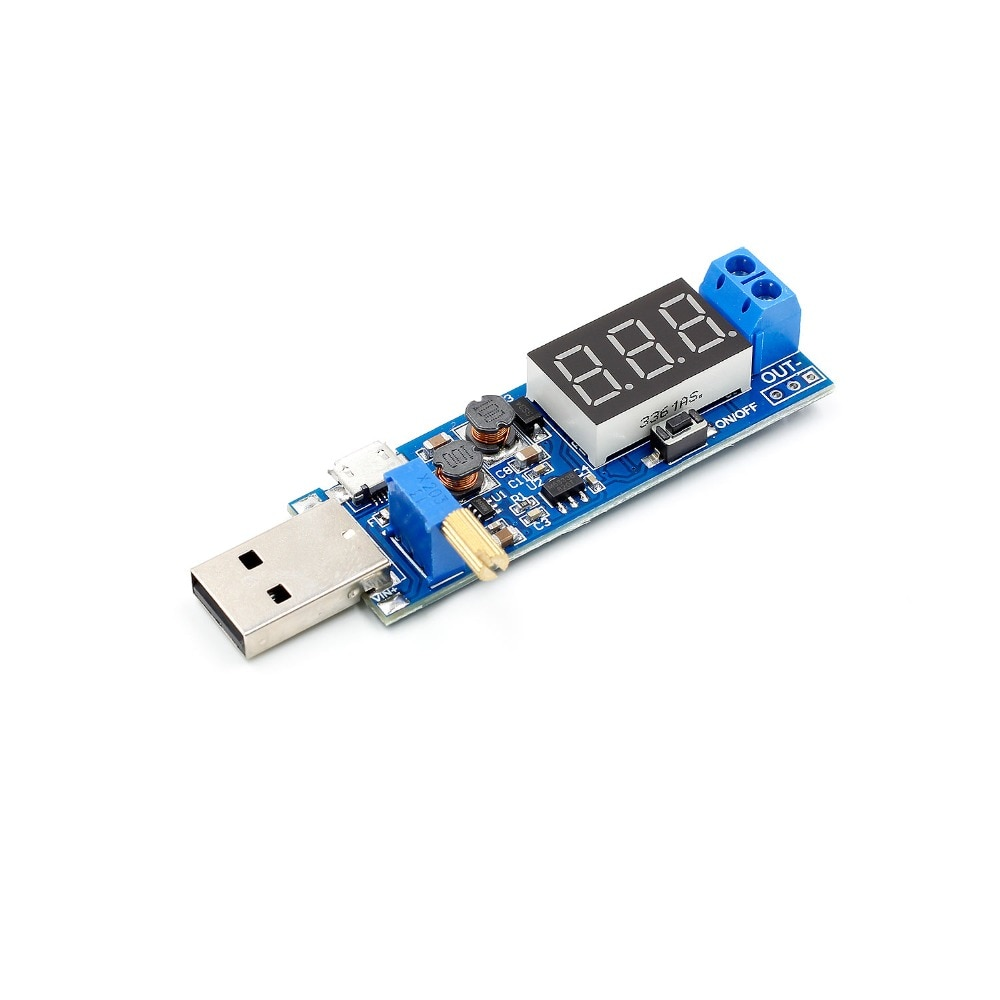 DC-DC 3.5-12V to DC1.2-2.4V USB Step Up/ Down Power Supply Module