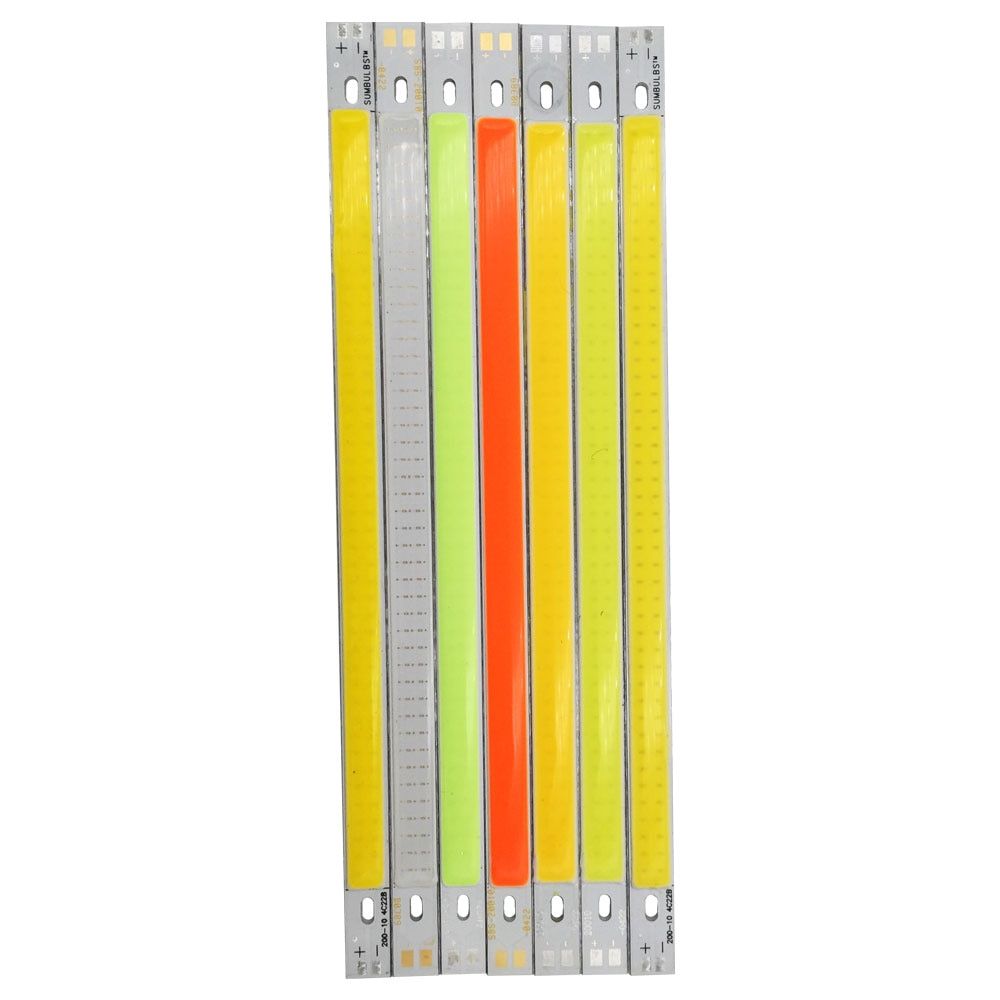 10W LED COB 200*10mm 12V Warm White/White for Car Light DIY