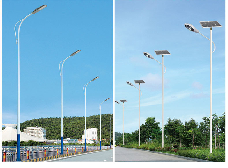 10W 20W 30W 50W 100W LED Spilit Solar Street Light