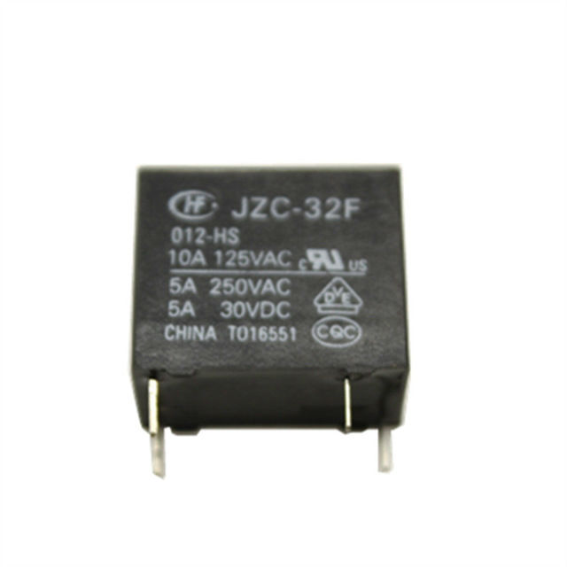 Hong Fa 4 Pins Power Relay HF32F-JZC-32F- 005 012 -HS3 10A