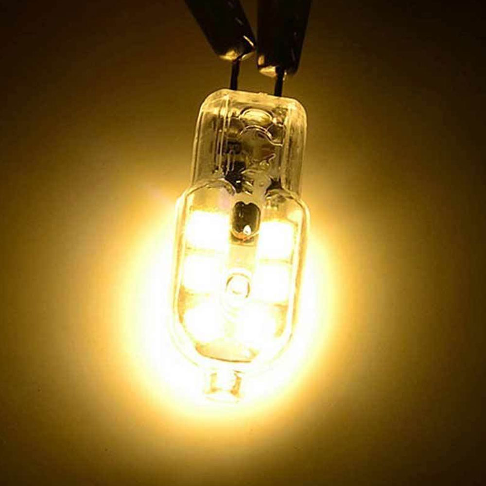 3W G4 2835 SMD LED Halogen Bulb AC220V/AC DC12V Home Light LED Silica Gel Lamp